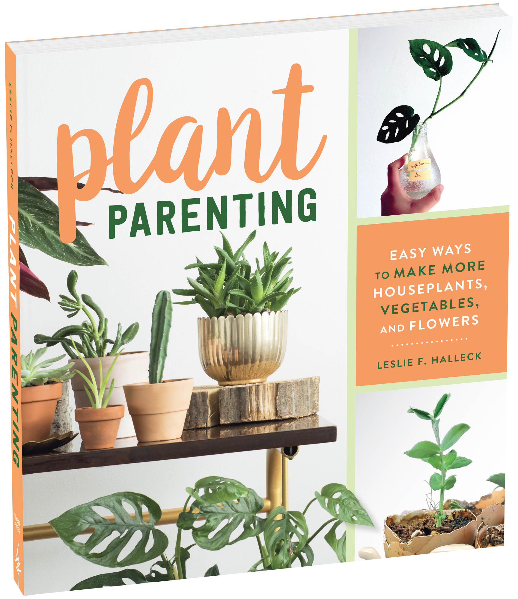 Plant Parenting Cover Binder